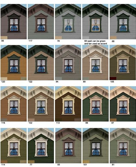 233 best images about historic house colors on pinterest