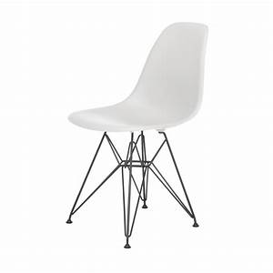 Eames Chair Weiß : eames plastic side chair stuhl dsr mit filzgleitern weiss ~ A.2002-acura-tl-radio.info Haus und Dekorationen