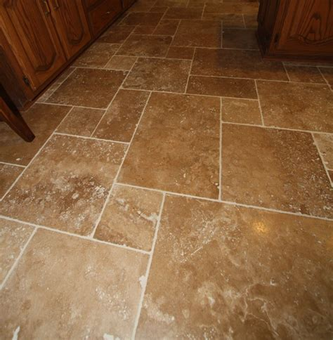 travertine tile floor mediterranean wall  floor
