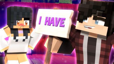 Does Aphmau Like Gene?  Minecraft Never Have I Ever Youtube