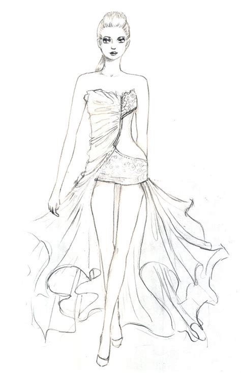 fashion design coloring pages bestofcoloringcom