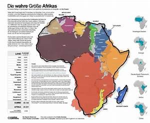 Wie Groß Ist Eine Europalette : karten verzerren die realit t so gro ist afrika wirklich n ~ Whattoseeinmadrid.com Haus und Dekorationen