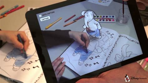 Disney 'interactive' Coloring Books In The Works