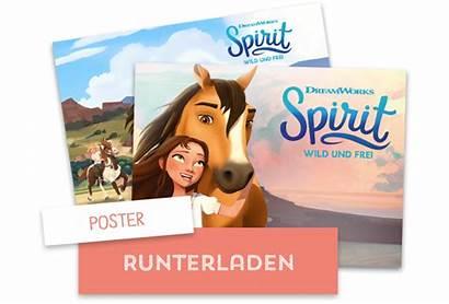 Spirit Toggo Frei Wild Dreamworks Riding Poster