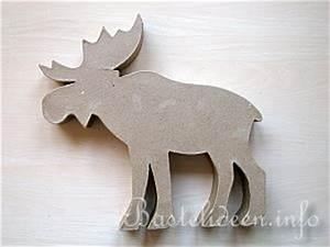 Elch Basteln Vorlage : weihnachtsbasteln pappmach elch ~ Lizthompson.info Haus und Dekorationen