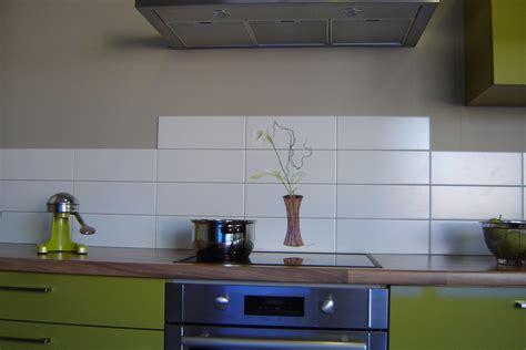 modele carrelage cuisine mural paysage sur faïence décor moderne fresque sur carrelage