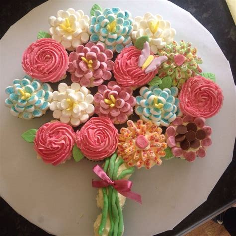 Simple birthday cake for her   cake decorating. Image result for cupcake arrangement idea for birthday   Grandma birthday cakes, Birthday cake ...