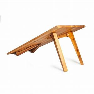 AdamOn Wooden Folding Table • WOO Design
