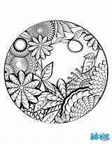 Mandala Coloring Pages Print Worksheet Mandalas Colouring Hellokids Printable Drawing Books Flowers Adult Adults Cool Mendala Circle Meditation Pour Nature sketch template