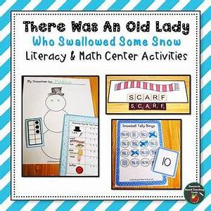There Was An Old Lady Who Swallowed Some Snow Literacy