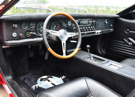 Mint Condition 1969 De Tomaso Mangusta Goes under the ...
