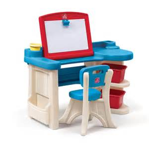 kids art desk easel step2