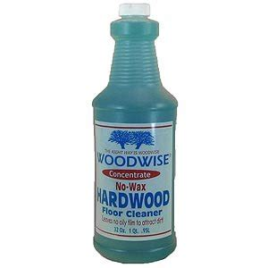 amazon com woodwise 32oz concentrate no wax hardwood floor cleaner home improvement