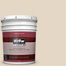 Behr Premium Plus 5 Gal #23 Antique White Flat Interior
