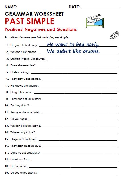 Free Printable Pdf Grammar Worksheets, Quizzes And Games, From A To Z, For Eflesl Teachers