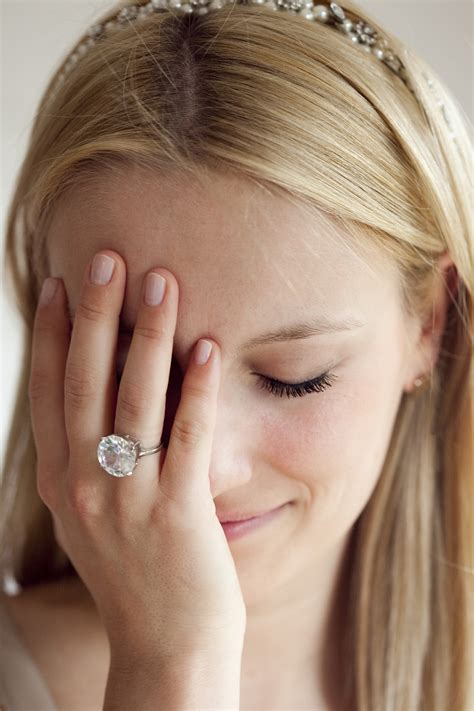 bad engagement ring from a great guy here s how to handle