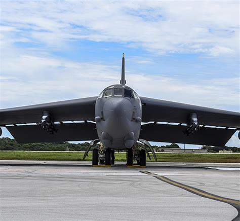 All Global Strike Bombers Deploy To Andersen, Maintain