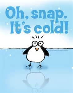Stay Warm Cartoon