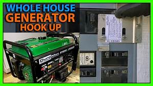 How To Hook Up A Generator To Your House Using A Breaker