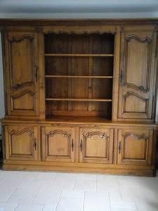 relooking meuble bibliotheque chene une creation With moderniser un meuble en bois