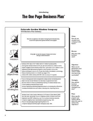 step  step outline  writing  business plan