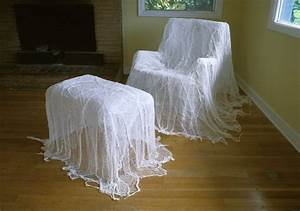 halloween ghost furniture looks easy enough to diy With sheets to cover furniture