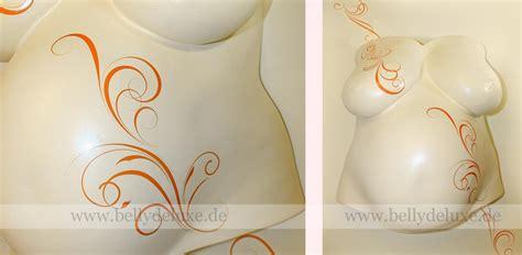 ornamente zum aufkleben galerie 2 babybauchabdruck mit schmetterling ornamente und blumen motiven belly deluxe