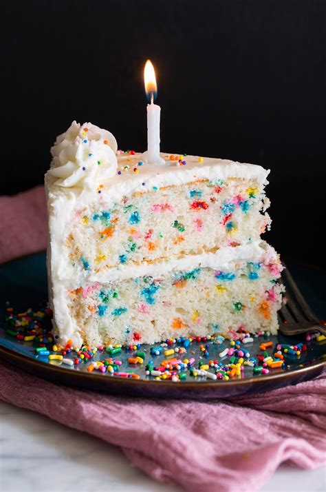 Best Birthday Cake Recipe {Funfetti Cake} - Cooking Classy