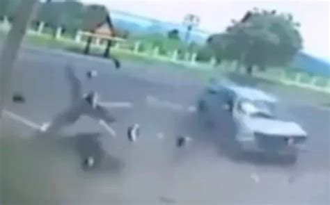 Dashcam Footage Shows Woman's Soul Leaving Her Body After