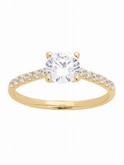 Fine Jewelry Brilliance Ring Gold Diamond Walmart