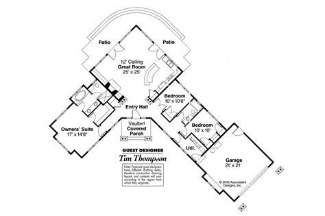 ranch house plans heartview    designs