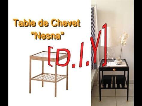 Table De Chevet Diy Diy Table De Chevet