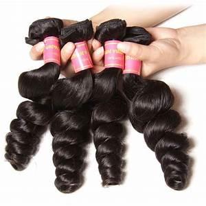 Nadula Cheap Brazilian Virgin Hair Loose Wave 4 Bundles ...