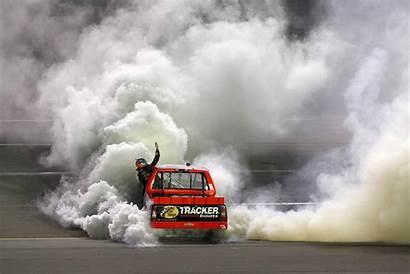 Burnout Smoke Nascar Truck Racing Race Wallpapers