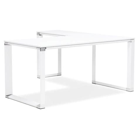 bureau d angle blanc bureau d 39 angle design quot hovik quot bois blanc