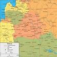 Belarus Map and Satellite Image