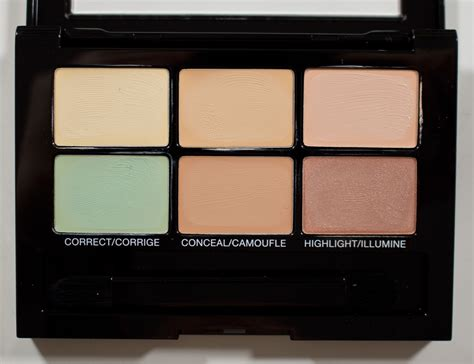 nyx colour correcting concealer palette warpaint and unicorns to compare color correcting