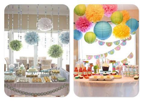 decoration de baby shower decoraciones en papel para baby shower