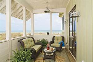Private, Porch, -, Beach, Decorating, Ideas, Outdoor, Spaces