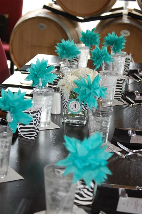 Teal Decor by 1000 Ideas About Teal Party On Pinterest Tiffany Blue