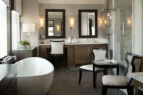 hamptons inspired luxury home master bathroom robeson