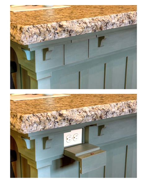kitchen island power organize your cabinets custom cabinets