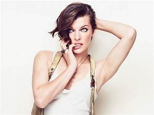 Milla Jovovich Wallpapers Images Photos Pictures Backgrounds