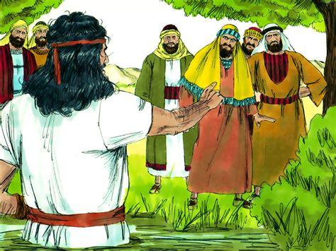 John Baptises Jesus. (matthew 3