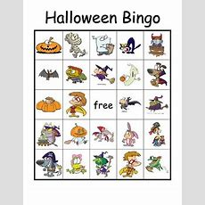 Halloween Vocabulary Bingo By Carl's Corner  Teachers Pay Teachers