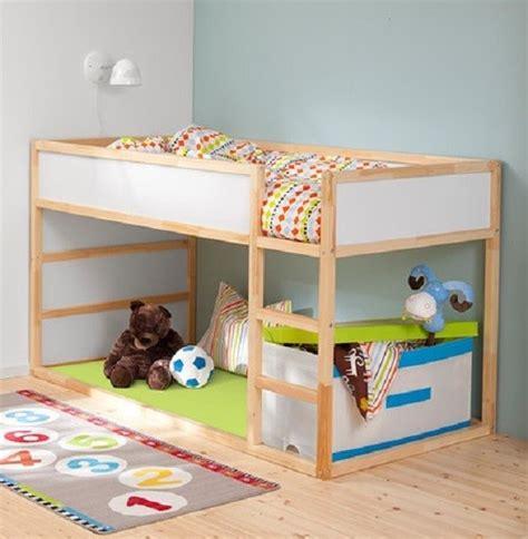 ikea chambres enfants chambre d 39 enfant lit réversible kura par ikea