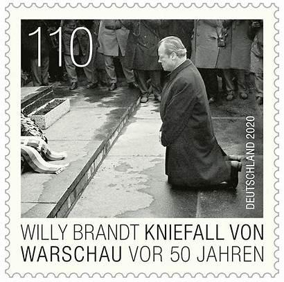 Warschau Kniefall Brandt Bundesfinanzministerium Vor Dezember Briefmarken