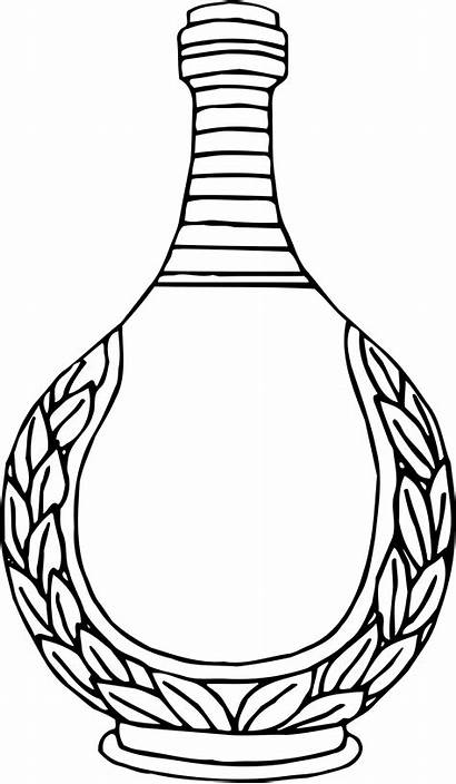 Vase Drawing Line Clipart