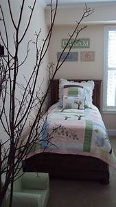 Pottery Barn Bird Theme Bedroom
