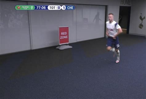 Dier Abandoned Carabao Cup Clash Vs Chelsea To Use Toilet